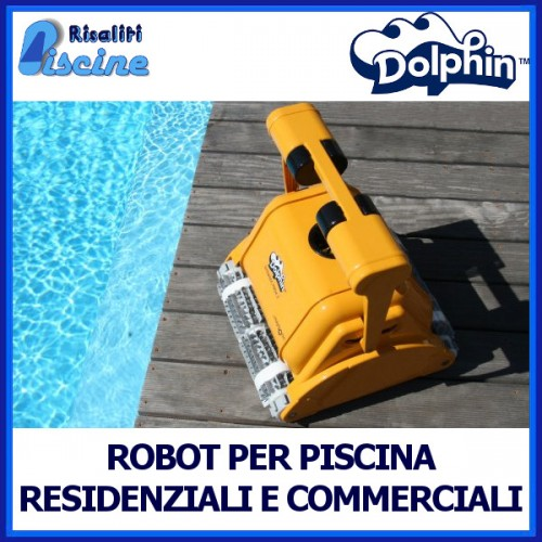 Robot Piscina Pulitore Automatico Dolphin Maytronics