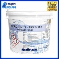 Cloro Tricloro Piscine Maris Pasticche 200 g