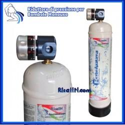 Riduttore Pressione Gasatore Acqua Monouso M11x1 Mini