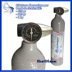 Riduttore Pressione Gasatore Acqua ACME Mini