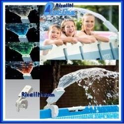 28089 Fontana Spruzzino multicolore Intex piscina fuori terra Frame/Ultraframe