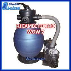 Ricambi per Filtri WoW 7 mc BC2013