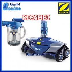 Ricambi Robot Zodiac MX 8 Pro Pulitore Piscina