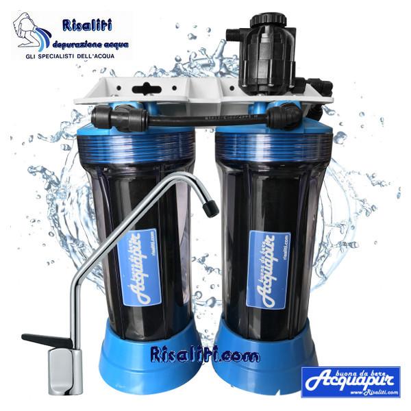 Depuratore Acquapur 7000 8000 litri con rubinetto