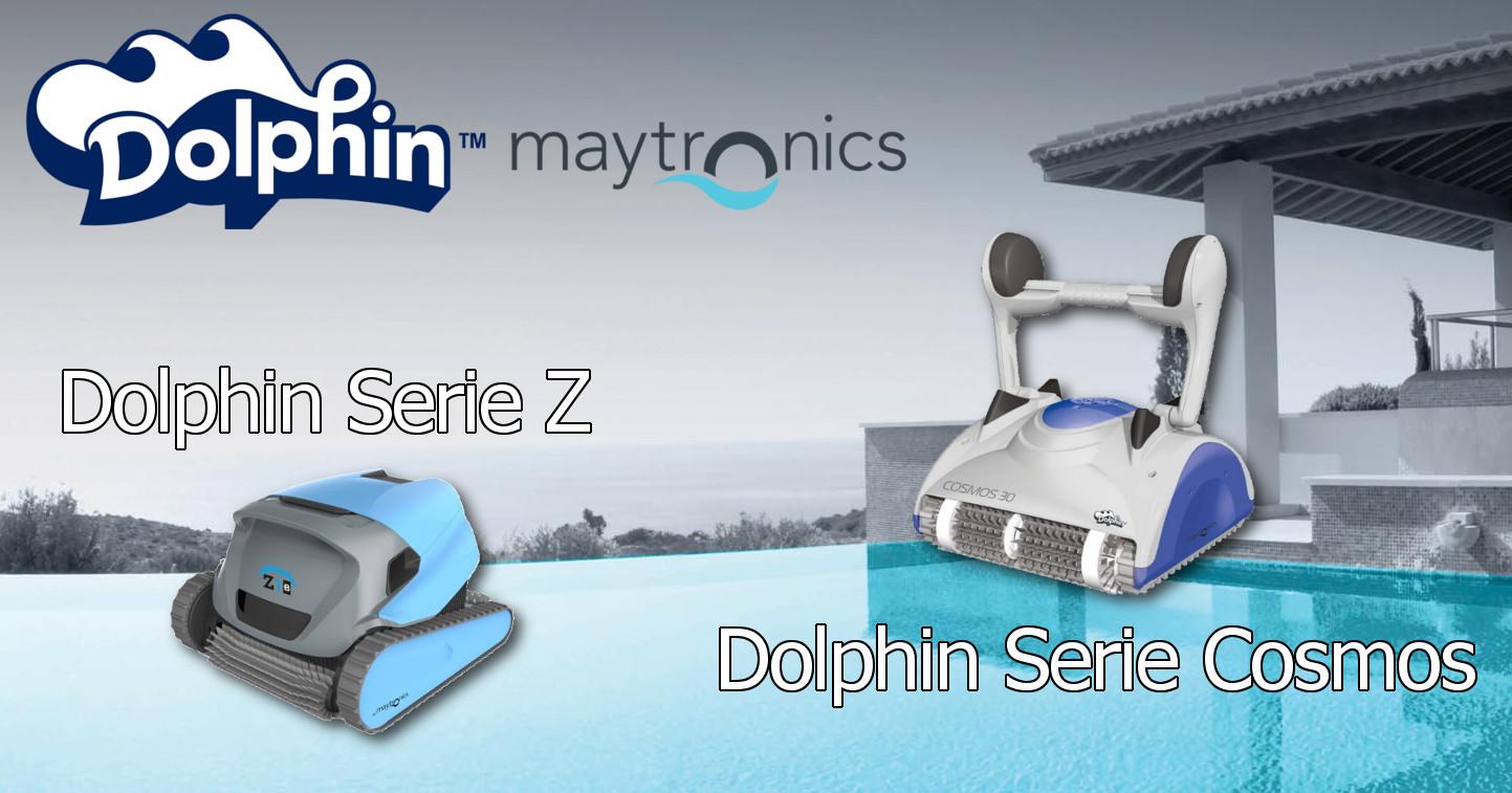 Nuovi Robot Dolphin Maytronics. Serie Cosmos, economici ma molto performanti. Serie Z, innovazione e potenza in un robot unico
