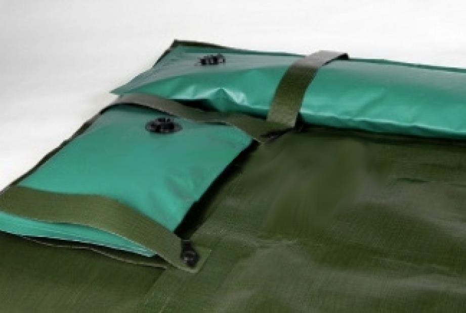 Copertura invernale copripool max salsicciotti tubolari for Riparare piscina