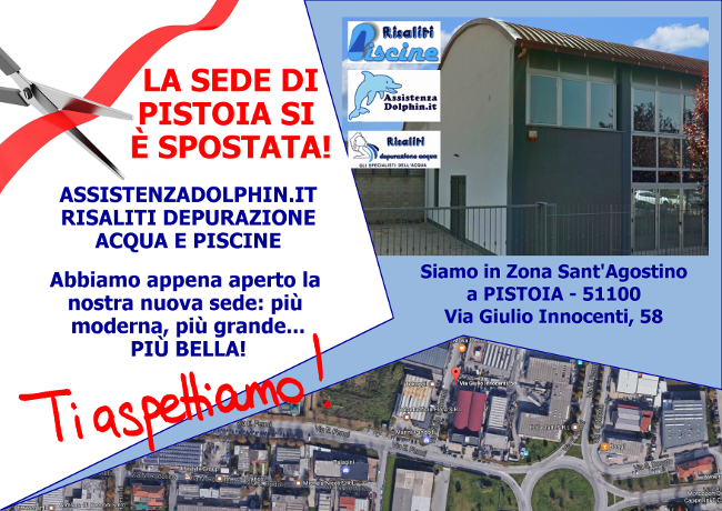 Nuova sede di Pistoia - Siamo in Via Innocenti, 58 - Zona Sant'Agostino