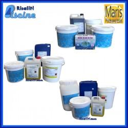 Kit prodotti Piscina Maris Pool Season PH