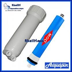Contenitore e Memrbana Osmosi Inversa Acquapur