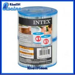 29001 Cartuccia S1 ricambio filtro piscina Intex SPA gonfiabile