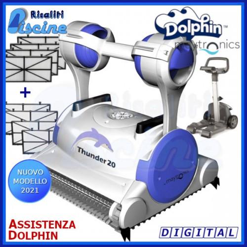 Dolphin Thunder 20 Digital Robot Pulitore Piscina