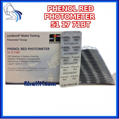 Reagenti Ph 250 Lovibond colorimetro piscine