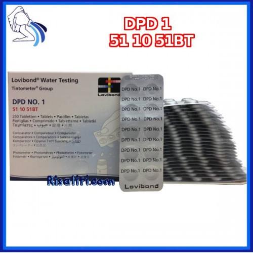 Reagenti DPD1 250 Lovibond colorimetro piscine