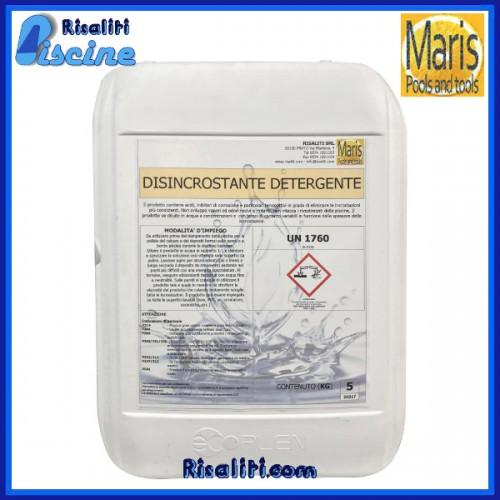 Disincrostante Detergente Manutenzione Piscina 5 kg Maris