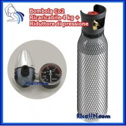 Kit Gasatura Cilindro 4 kg con Riduttore di Pressione