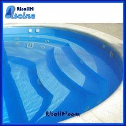 Idromassaggio piscina 8 bocchette per parete o scalinata