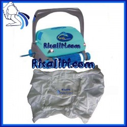 9967071-ASSY Filtro Sacco filtrante Calza Robot Piscina Dolphin Willy Luminous