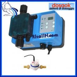 Pompa Dosatrice Volumetrica con contatore 1.12 pollice