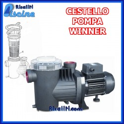Cestello Prefiltro Pompa Piscina Winner