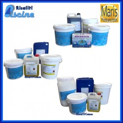 Kit prodotti Piscina Maris Pool Season PH