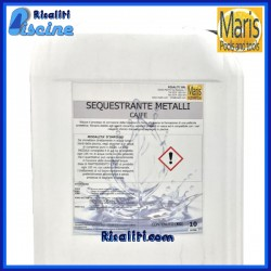 Sequestrante Metalli Ca/Fe Manutenzione Piscina 10 kg Maris