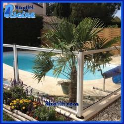 Recinzione Sicurezza Piscina SwimPark Trasparente Alluminio