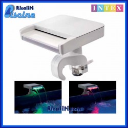 28090 Cascata Fontana LED Spruzzino multicolore Intex piscina fuori terra Frame/Ultraframe