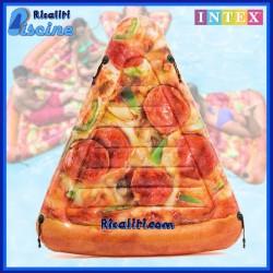 58752 Materassino gonfiabile Piscina Mare Pizza Realistica 175x145