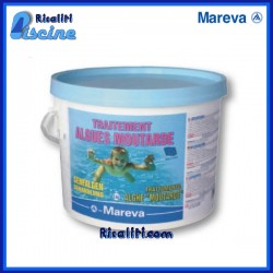 Alghicida trattamento pulizia Acqua Antialghe Gialle Piscine kg 3 Mareva