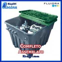 Impianto Piscina 10X5 con Filtro a Sabbia Completo
