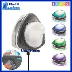 Faro LED RGB Magnetico Piscine Fuori Terra Intex 28698