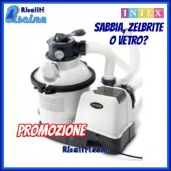 Filtro Sabbia 4,5 mc Piscina fuoriterra Intex 26644