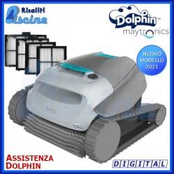 Dolphin SX10 Digital Robot Pulitore Piscina Fondo e 30 cm Pareti