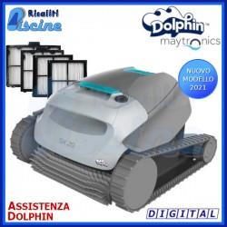 Dolphin SX20 Digital Robot Pulitore Piscina Fondo Pareti Linea Acqua
