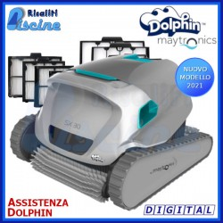 Dolphin SX30 Digital Robot Pulitore Piscina Fondo Pareti Linea Acqua