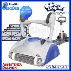 Dolphin Cosmos 20 Digital Robot Pulitore Piscina fondo pareti