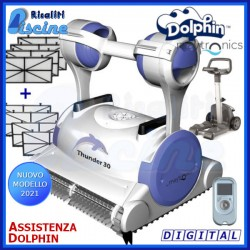 Dolphin Thunder 30 Digital Robot Pulitore Piscina