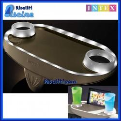 28520 Porta Oggetti Intex LED per SPA