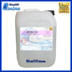 Alghicida trattamento pulizia Mr Oxy 12 Antialghe Piscine 10 kg Maris
