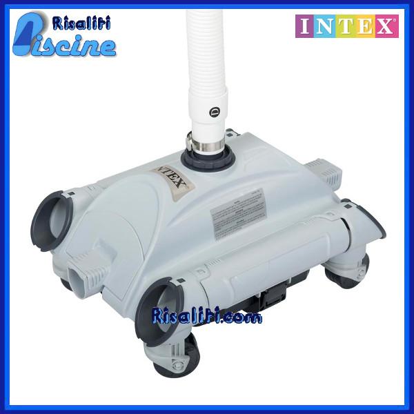 28001 Robot Idraulico Pulizia Piscina Intex Auto Pool Cleaner www.risaliti.com