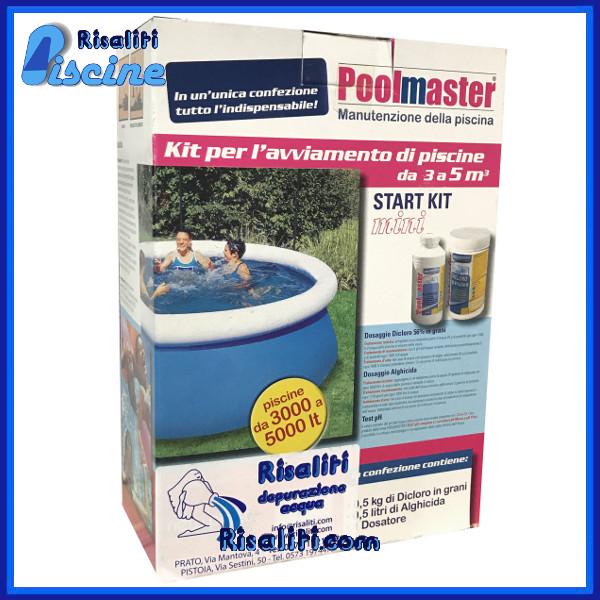 2903 Kit cloro e antialghe piscine fuori terra 3-5 mc www.risaliti.com