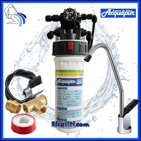Depuratore Purificatore Acqua Acquapur W2P 5k 5000 litri con rubinetto www.risaliti.com