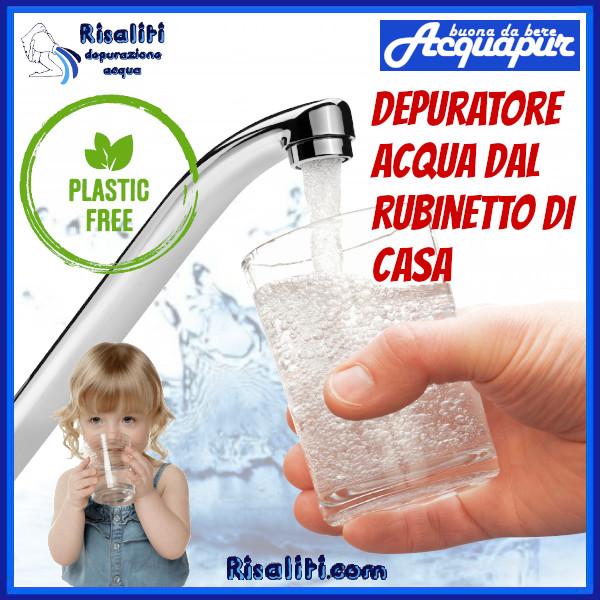 Depuratore Acqua Domestico - Acqua Pulita dal Rubinetto www.risaliti.com