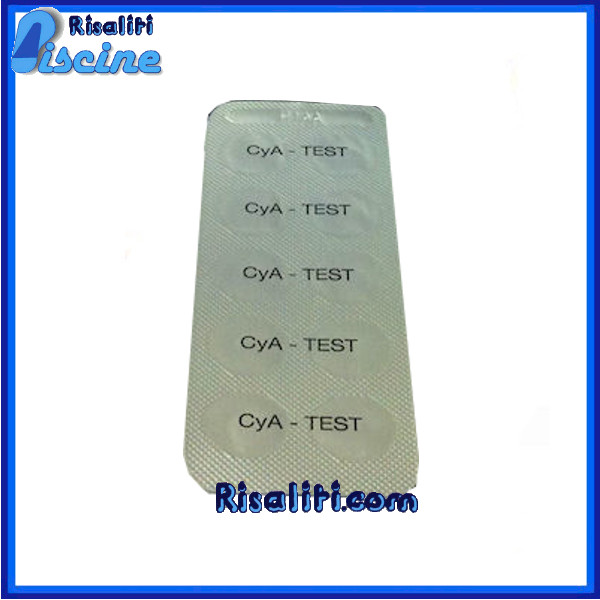 Reagenti Acido Cianurico 10 Lovibond colorimetro piscine www.risaliti.com