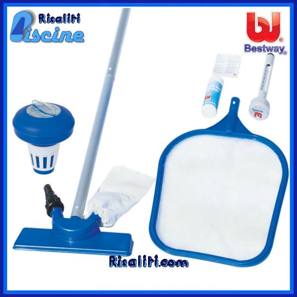 Risaliti depurazione acqua e piscine prato e pistoia 58195 kit pulizia bestway per pulizia - Pulizia piscina fuori terra ...