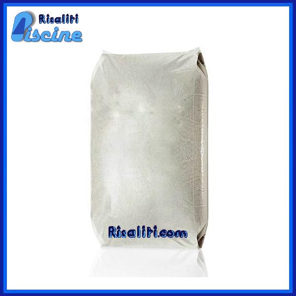 Sacco di Quarzite da 25 Kg Materiale Filtrante Filtro Sabbia Piscine www.risaliti.com
