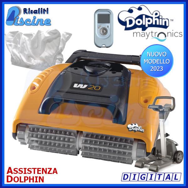 Dolphin W20 Robot Pulitore Piscina www.risaliti.com