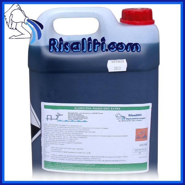 Alghicida trattamento pulizia alghe Piscine Forte Maris www.risaliti.com