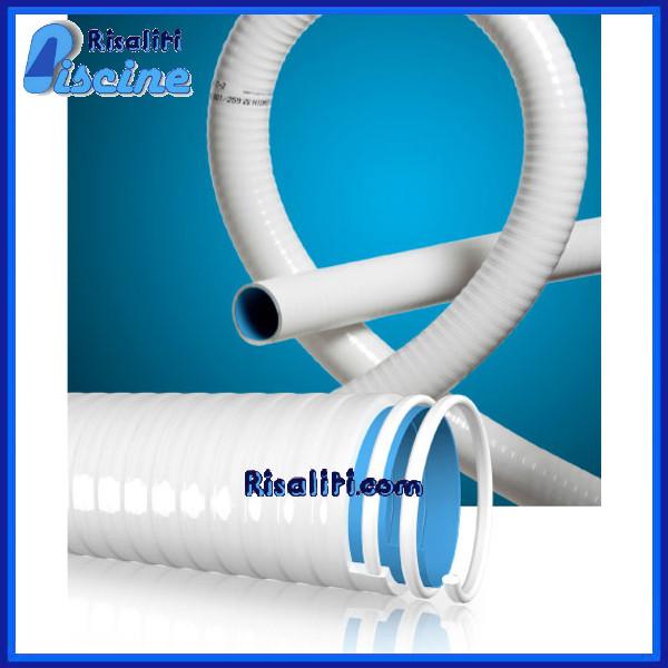 Tubo spiralato flessibile PVC Hidrotubo Plus Piscina 50x42mm 25 m www.risaliti.com