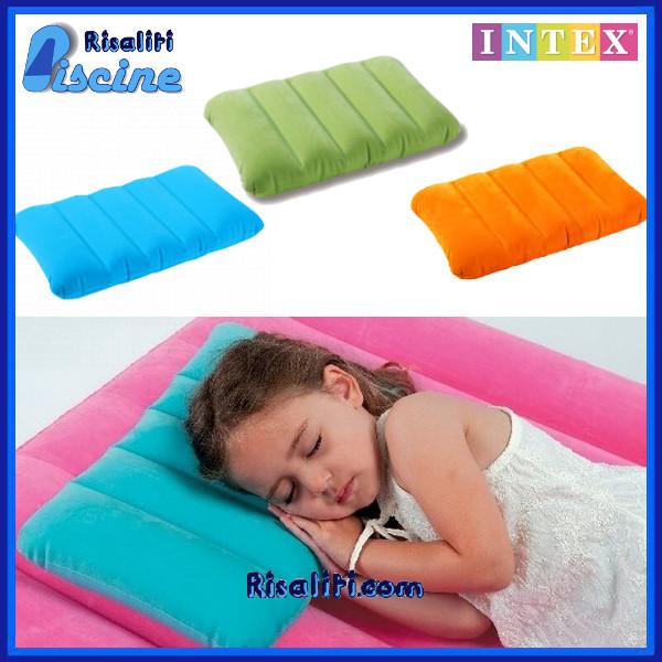 68676 Poggiatesta cuscino Gonfiabile Bambini Intex www.risaliti.com